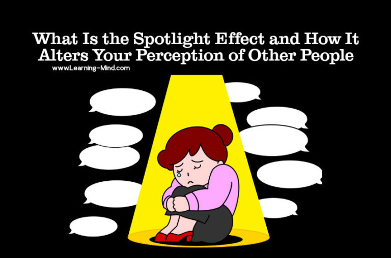 What Is the Spotlight Effect and How It Alters Your Perception of Other People