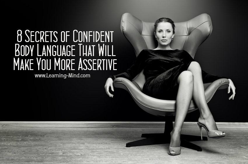 confident body language