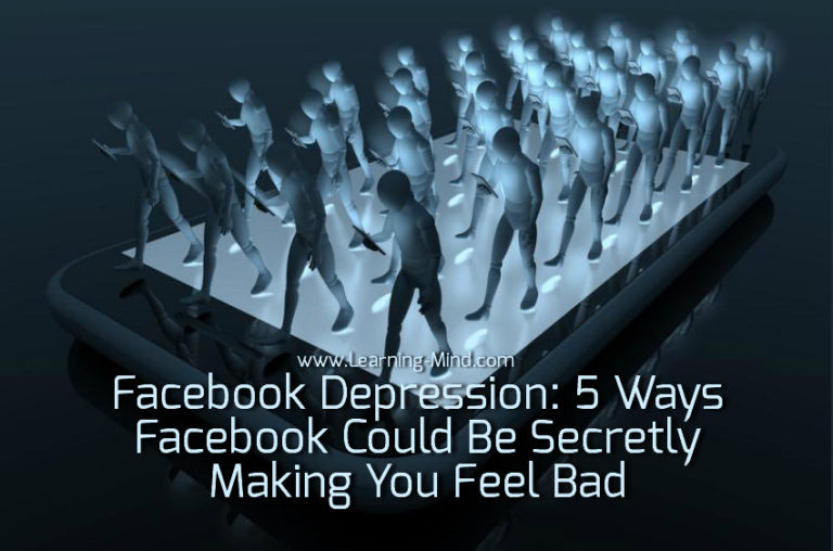 Facebook Depression: 5 Ways Facebook Could Be Secretly Making You Feel Bad