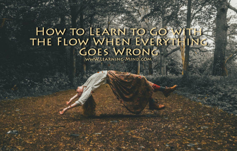 How to Learn to Go with the Flow When Everything Goes Wrong