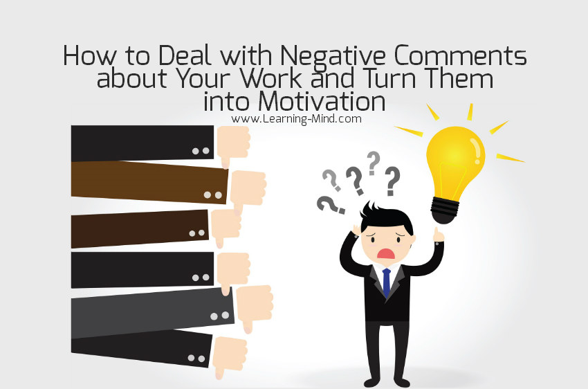 negative comments work