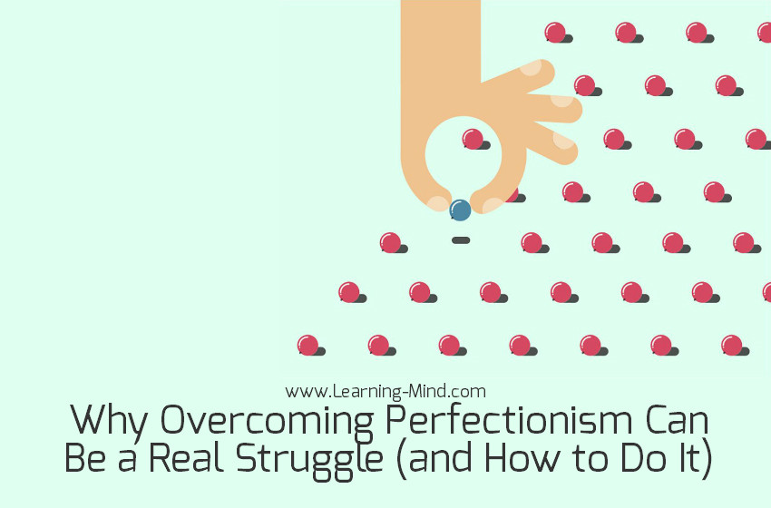 overcoming perfectionism