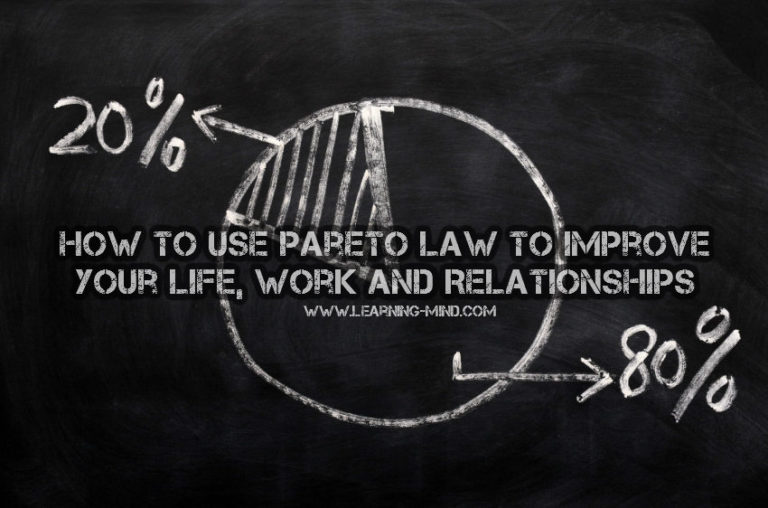 What Is Pareto Law and It Can Improve Your Life, Work and Relationships
