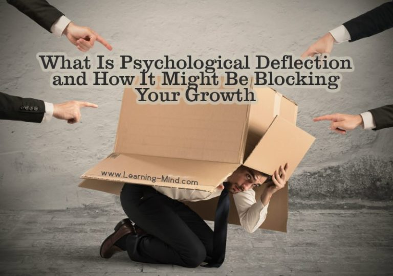 What Is Psychological Deflection and How It Might Be Blocking Your Growth