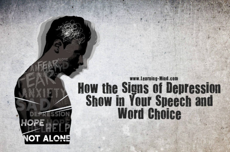 How the Signs of Depression Show in Your Speech and Word Choice