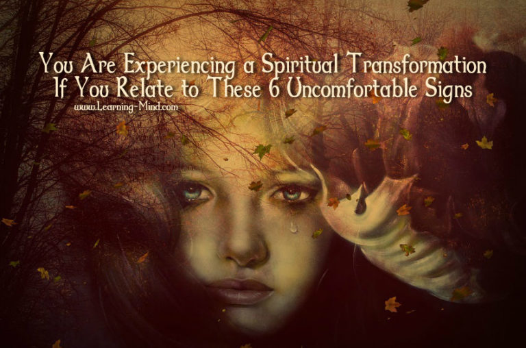 Spiritual Transformation Comes with These 6 Uncomfortable Symptoms