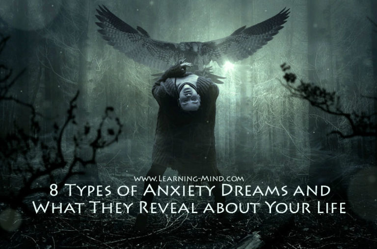 8 Types of Anxiety Dreams and What They Reveal about Your Life