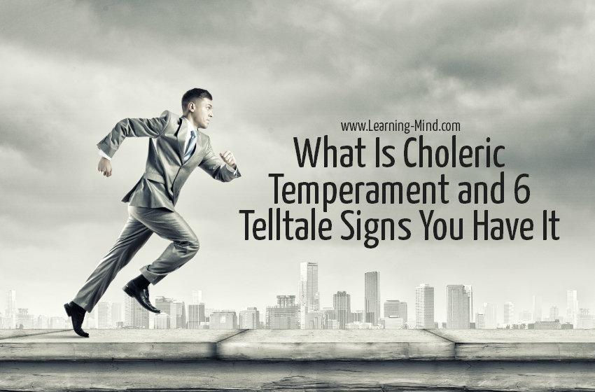 choleric temperament