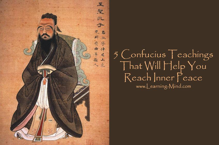 confucius teachings