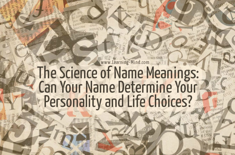 Name Meanings: Can Your Name Reveal Your Personality?
