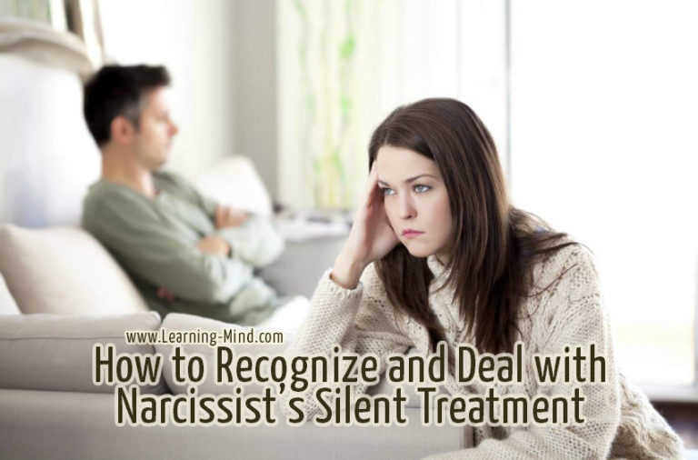 Narcissist's Silent Treatment Can Be Really Damaging: How to Recognize It and Learn to Cope