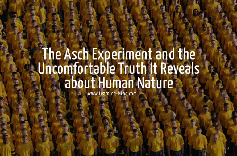 The Asch Experiment and the Uncomfortable Truth It Reveals about Human Nature