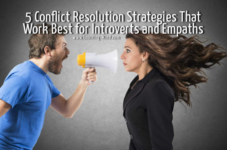 5 Conflict Resolution Strategies That Work Best for Introverts and Empaths