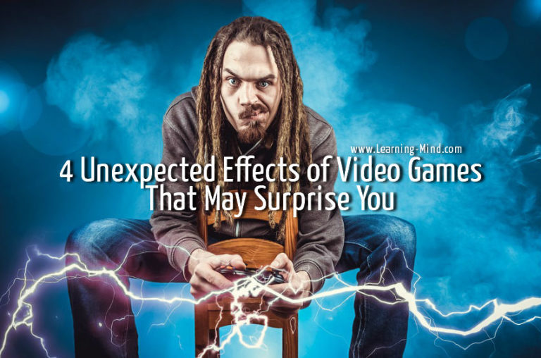 4 Unexpected Effects of Video Games That May Surprise You