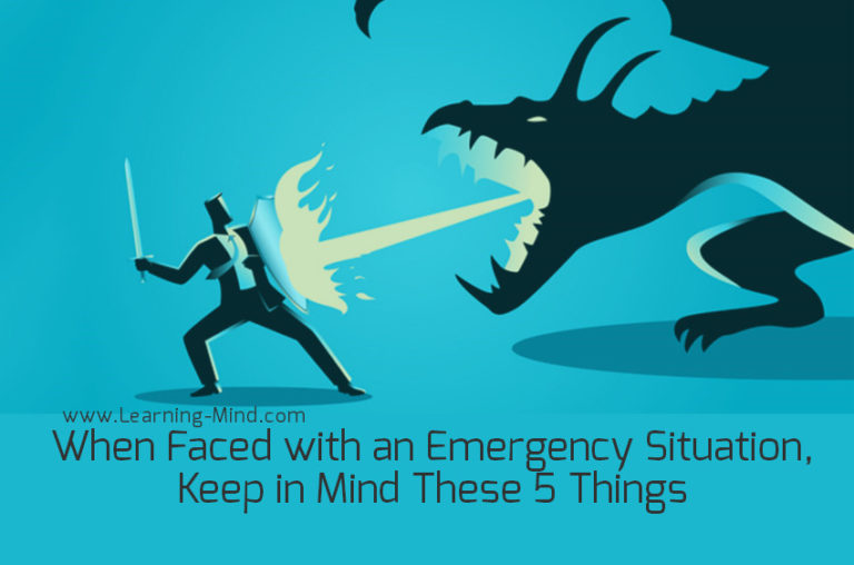 When Faced with an Emergency Situation, Keep in Mind These 5 Things