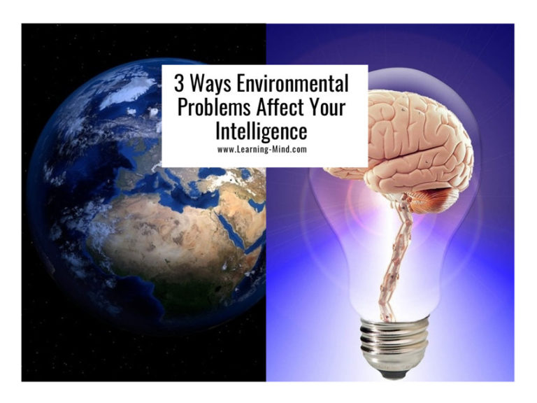 3 Ways Environmental Problems Affect Your Intelligence, According to Science