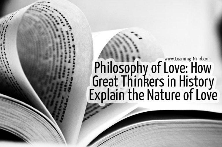 Philosophy of Love: How Great Thinkers in History Explain the Nature of Love