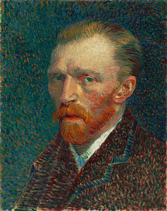 Van Gogh famous people with schizophrenia
