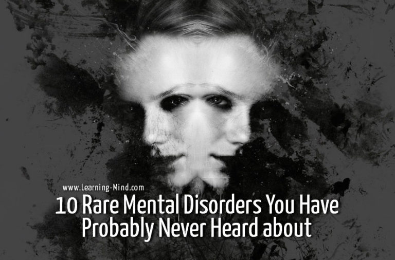10 Rare Mental Disorders You Have Probably Never Heard about