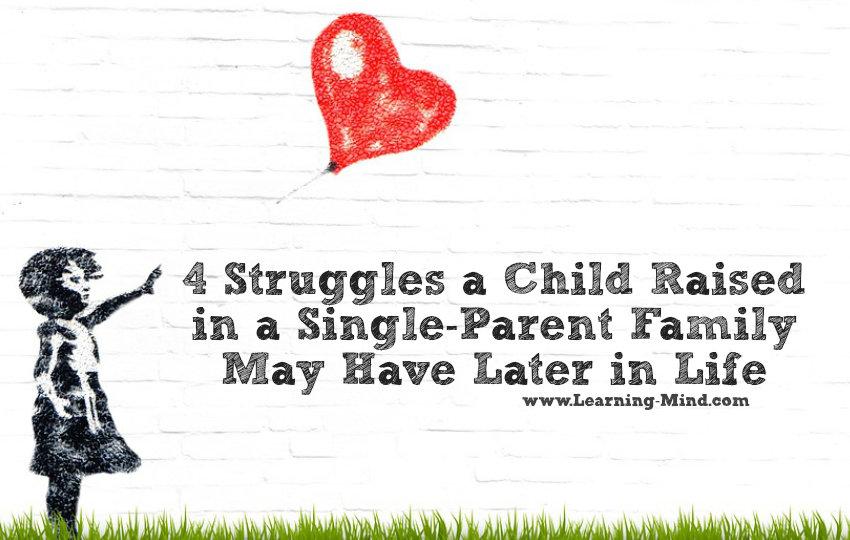 single-parent family child