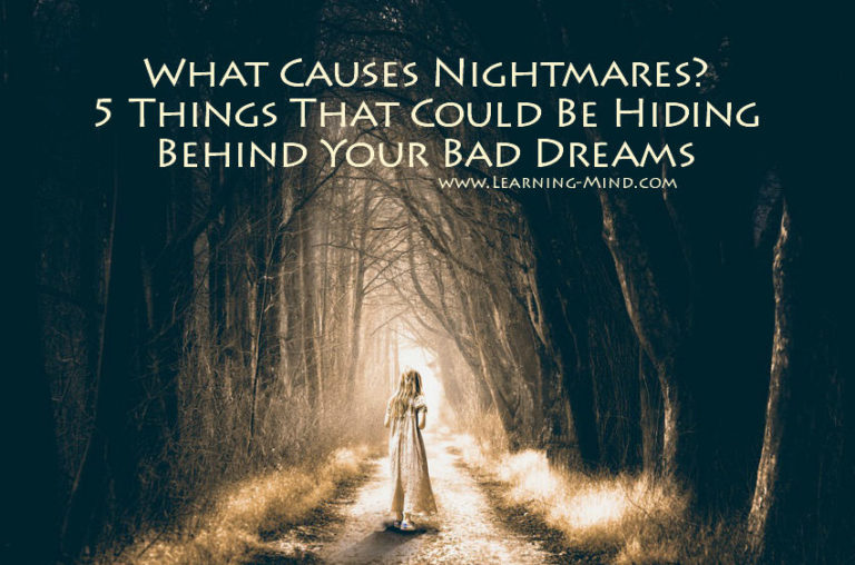 What Causes Nightmares? 5 Things That Could Be Hiding Behind Your Bad Dreams
