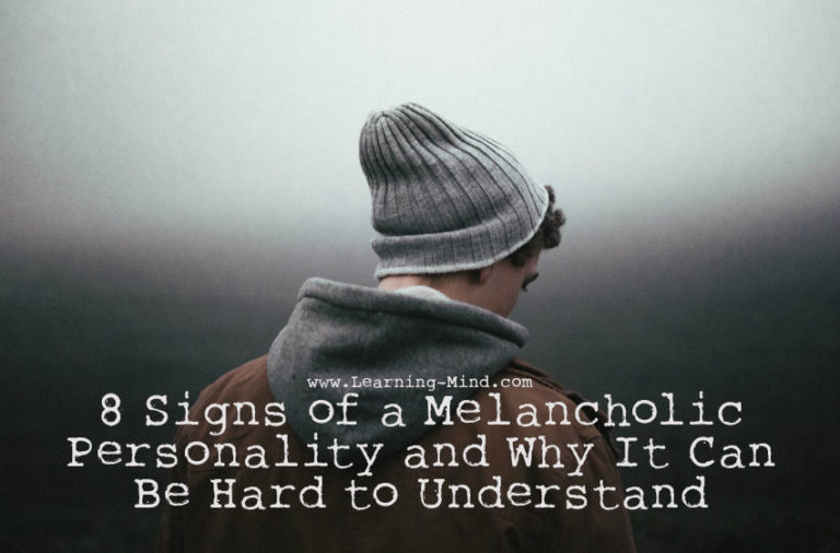 8 Signs of a Melancholic Personality and Why It Can Be Hard to Understand