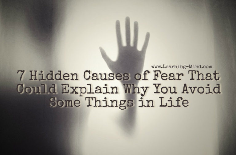 7 Hidden Causes of Fear That Could Explain Why You Avoid Some Things in Life