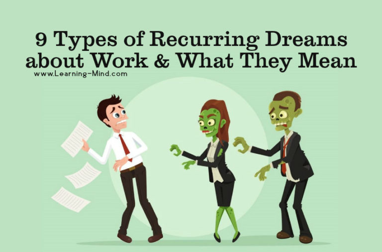 9 Types of Recurring Dreams about Work and What They Mean
