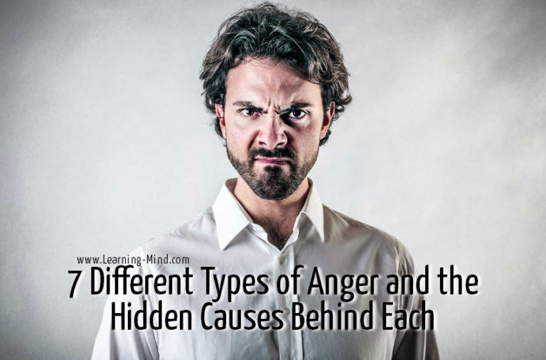 7 Different Types of Anger and the Hidden Causes Behind Each