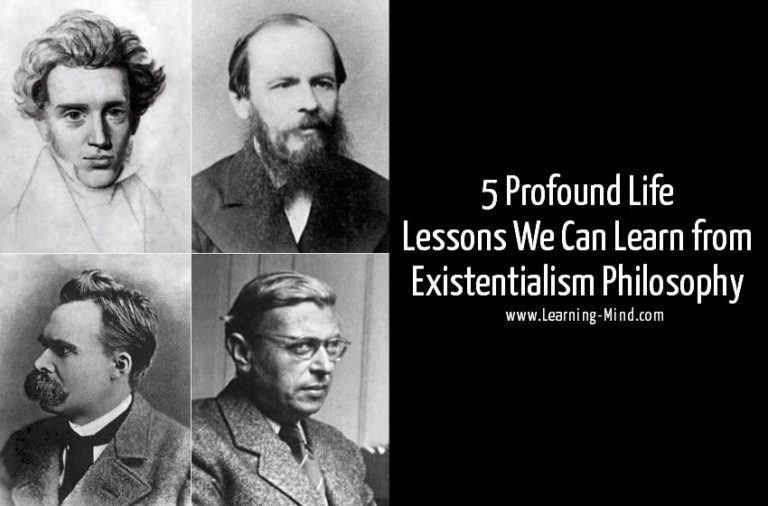 Existentialism Philosophy and 5 Profound Life Lessons We Can Learn
