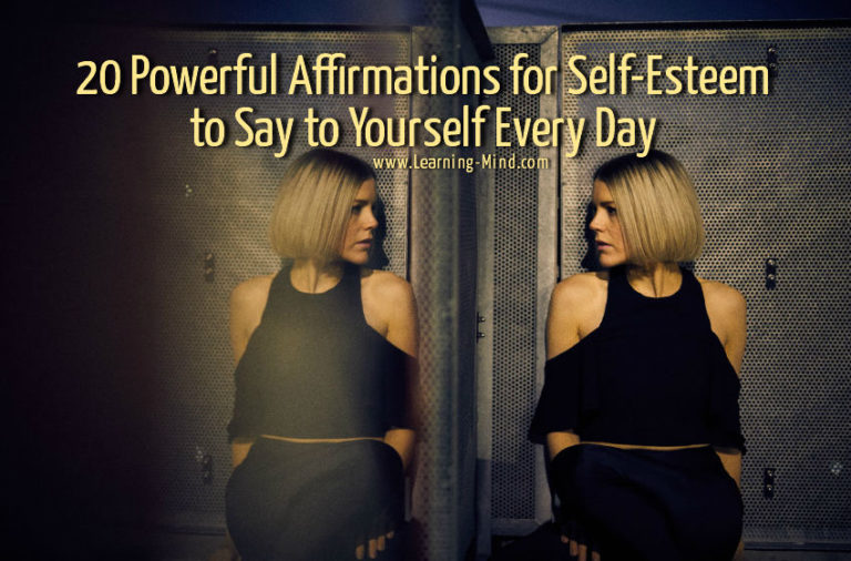 20 Affirmations for Self-Esteem to Say to Yourself Every Day