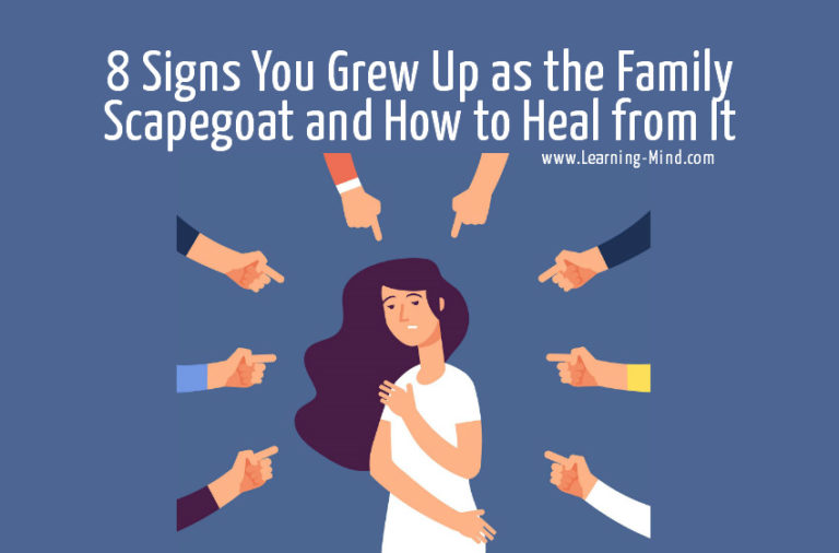 8 Signs You Grew Up as the Family Scapegoat and How to Heal from It