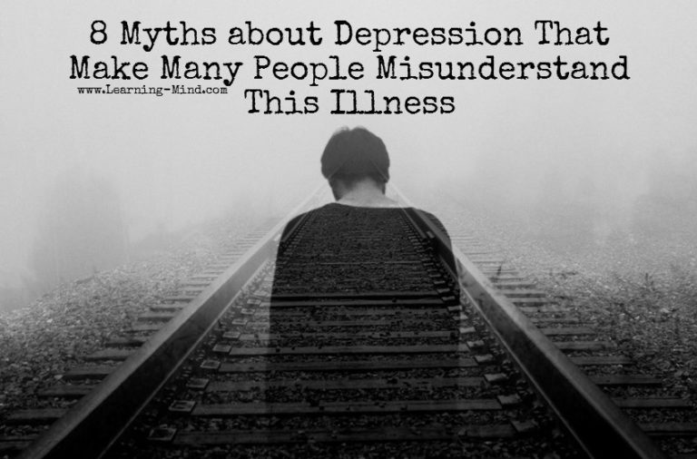 8 Myths about Depression That Make Many People Misunderstand This Illness