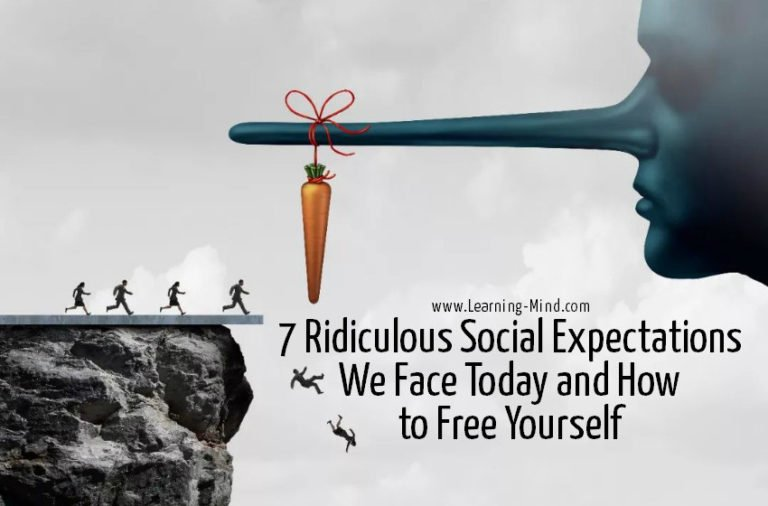 7 Ridiculous Social Expectations We Face Today and How to Free Yourself