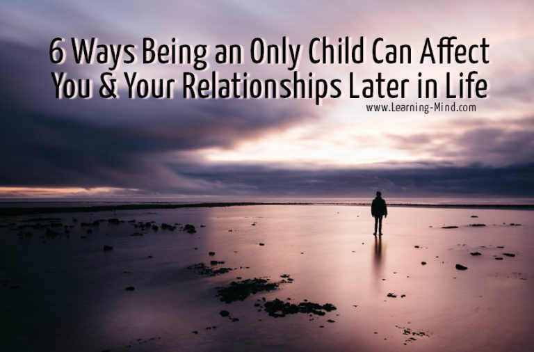 6 Ways Being an Only Child Can Affect You & Your Relationships Later in Life