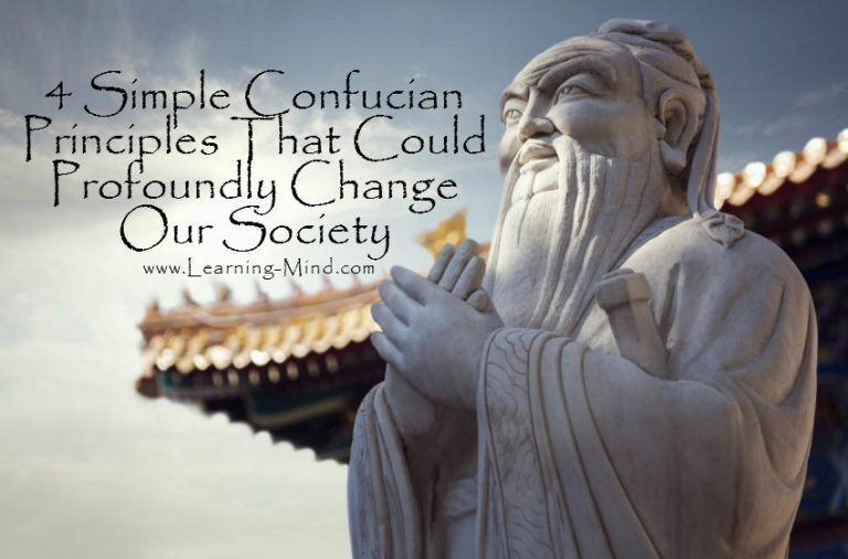 4 Simple Confucian Principles That Could Profoundly Change Our Society