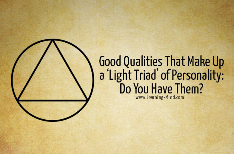 Good Qualities That Make Up a 'Light Triad' of Personality