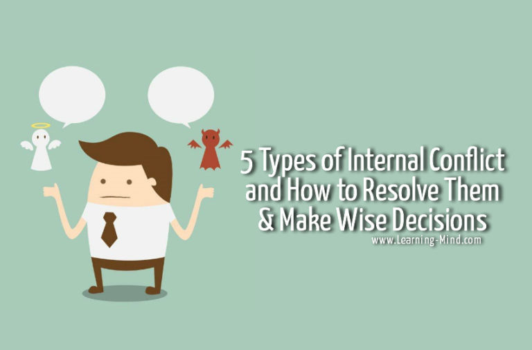 5 Types of Internal Conflict and How to Resolve Them & Make Wise Decisions