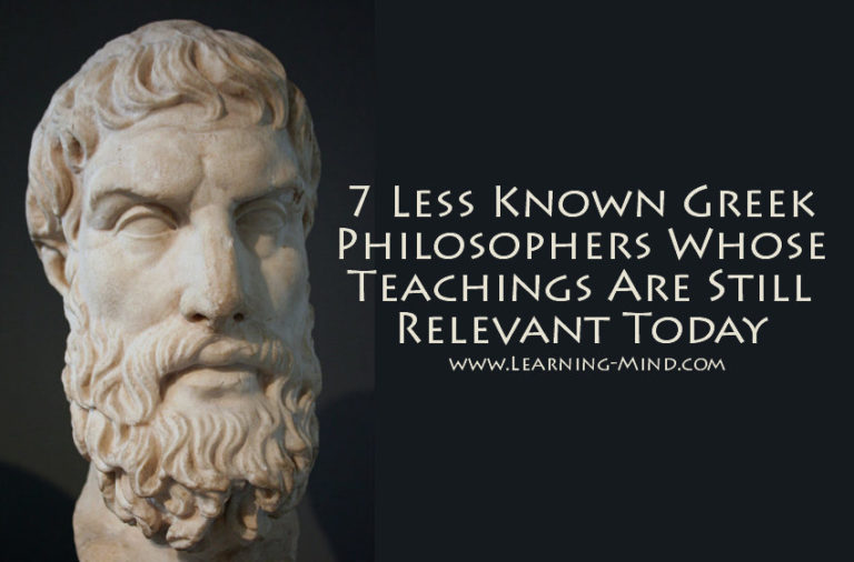 7 Less Known Greek Philosophers Whose Teachings Are Still Relevant Today