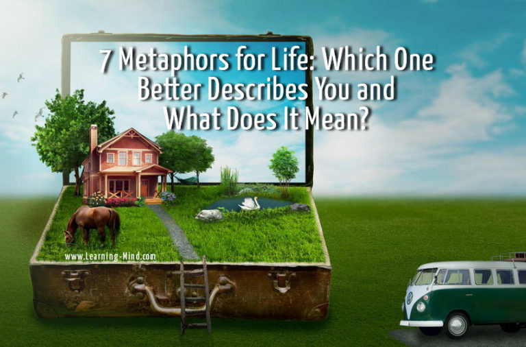 7 Metaphors for Life: Which One Better Describes You and What Does It Mean?