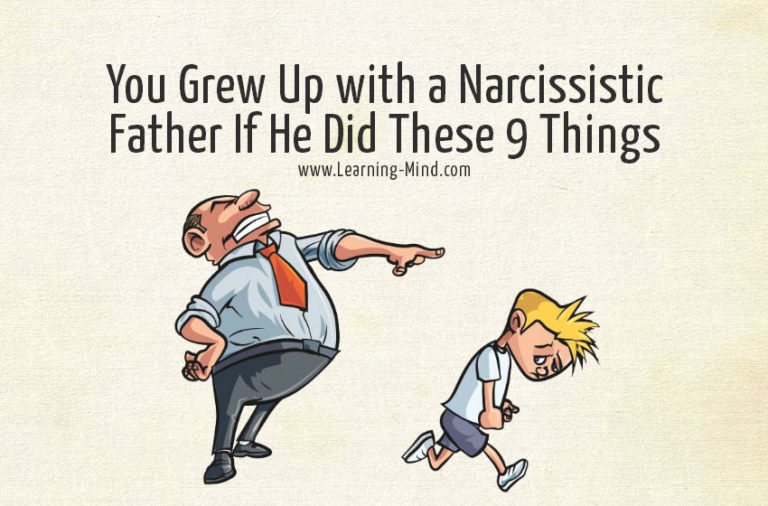 9 Signs of a Narcissistic Father: Were You Raised by a Narcissist?