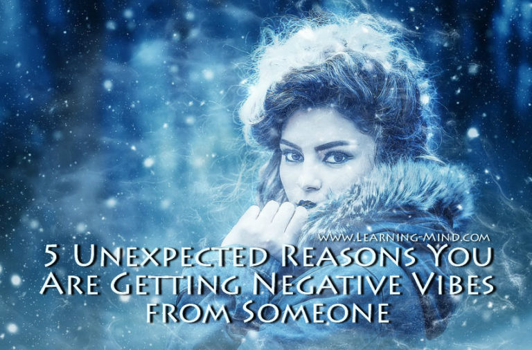 If You're Getting Negative Vibes from Someone, Here Is What It May Mean