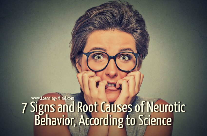 neurotic behavior signs causes