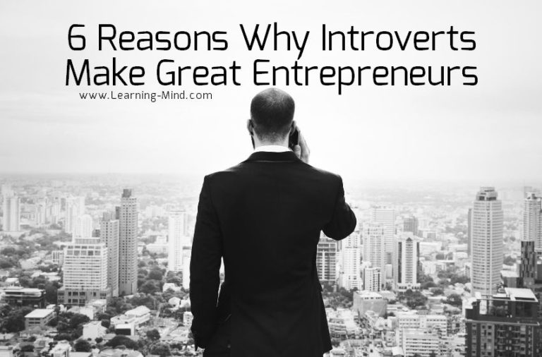 6 Reasons Why Introverts Make Great Entrepreneurs