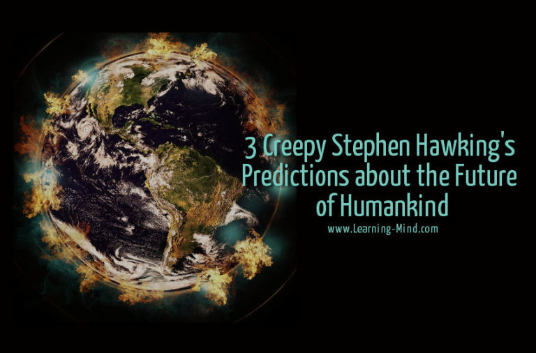 3 Creepy Stephen Hawking's Predictions about the Future of Humankind