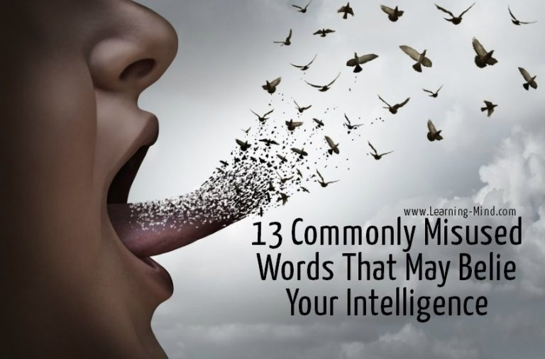 13 Commonly Misused Words That May Belie Your Intelligence