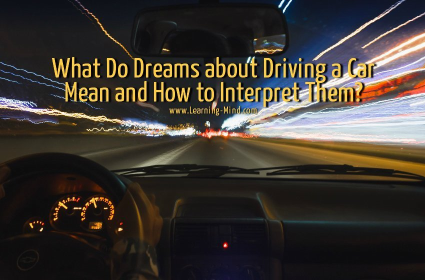 dreams about driving a car meaning