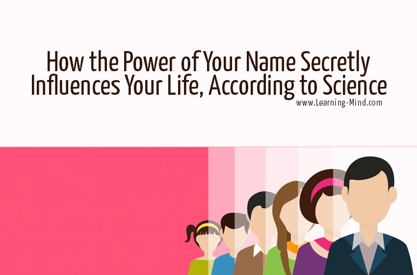 power of names influence life