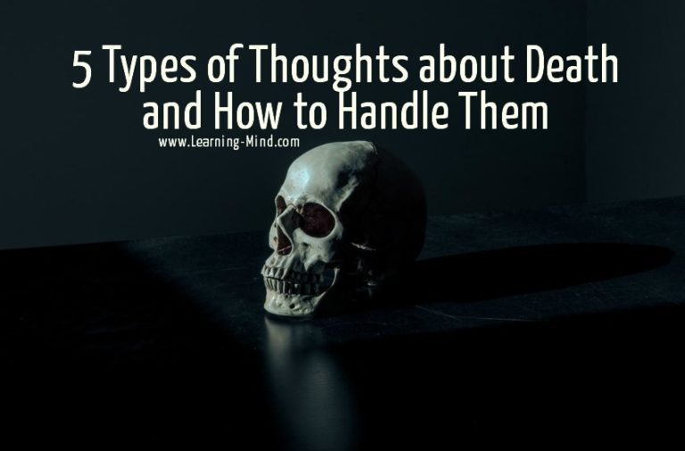 5 Types of Thoughts about Death and How to Handle Them