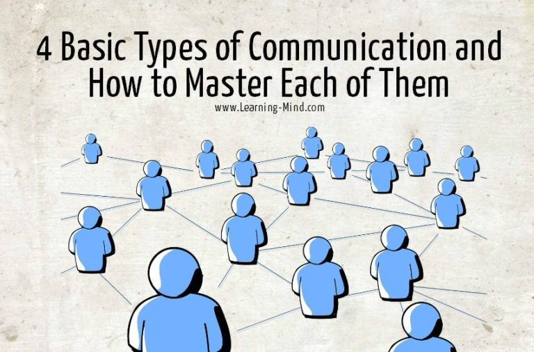 4 Basic Types of Communication and How to Master Each of Them